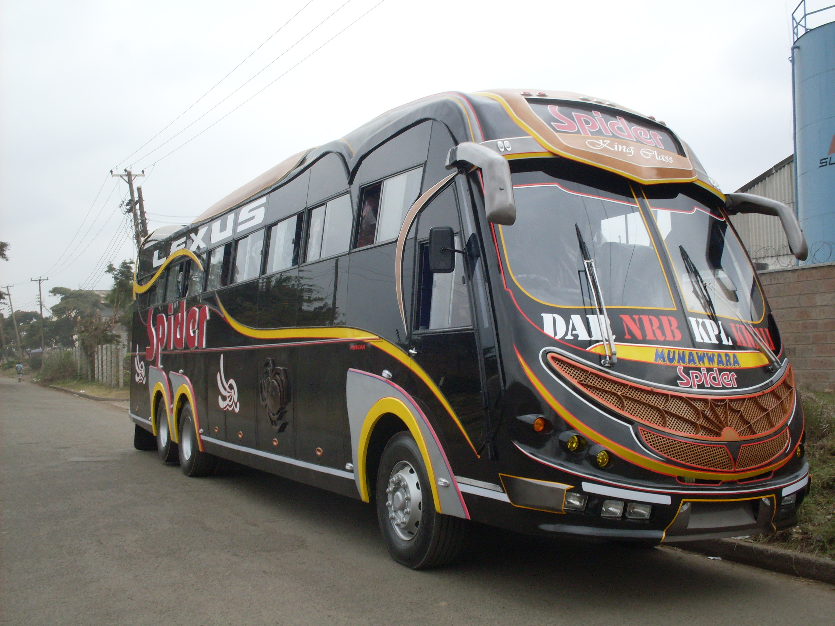 Luxury Coaches Malvabus